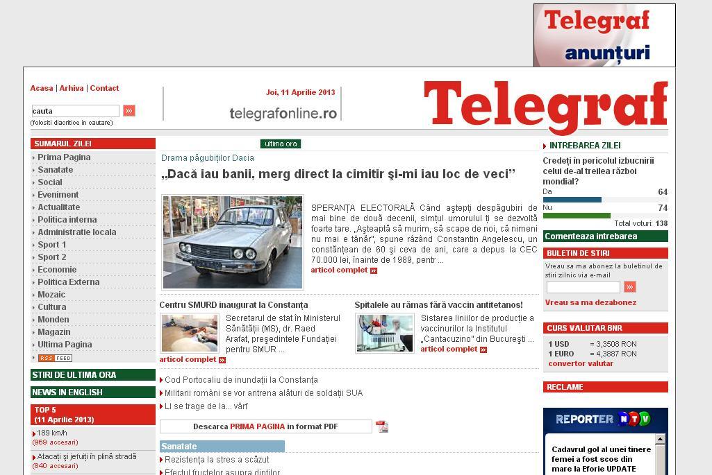 TelegrafOnline Constanta