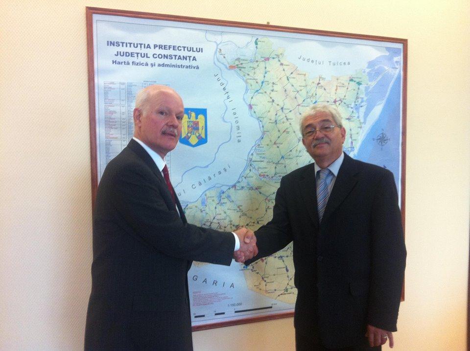 Vizita Ambasadorul Republicii  Federative Brazilia