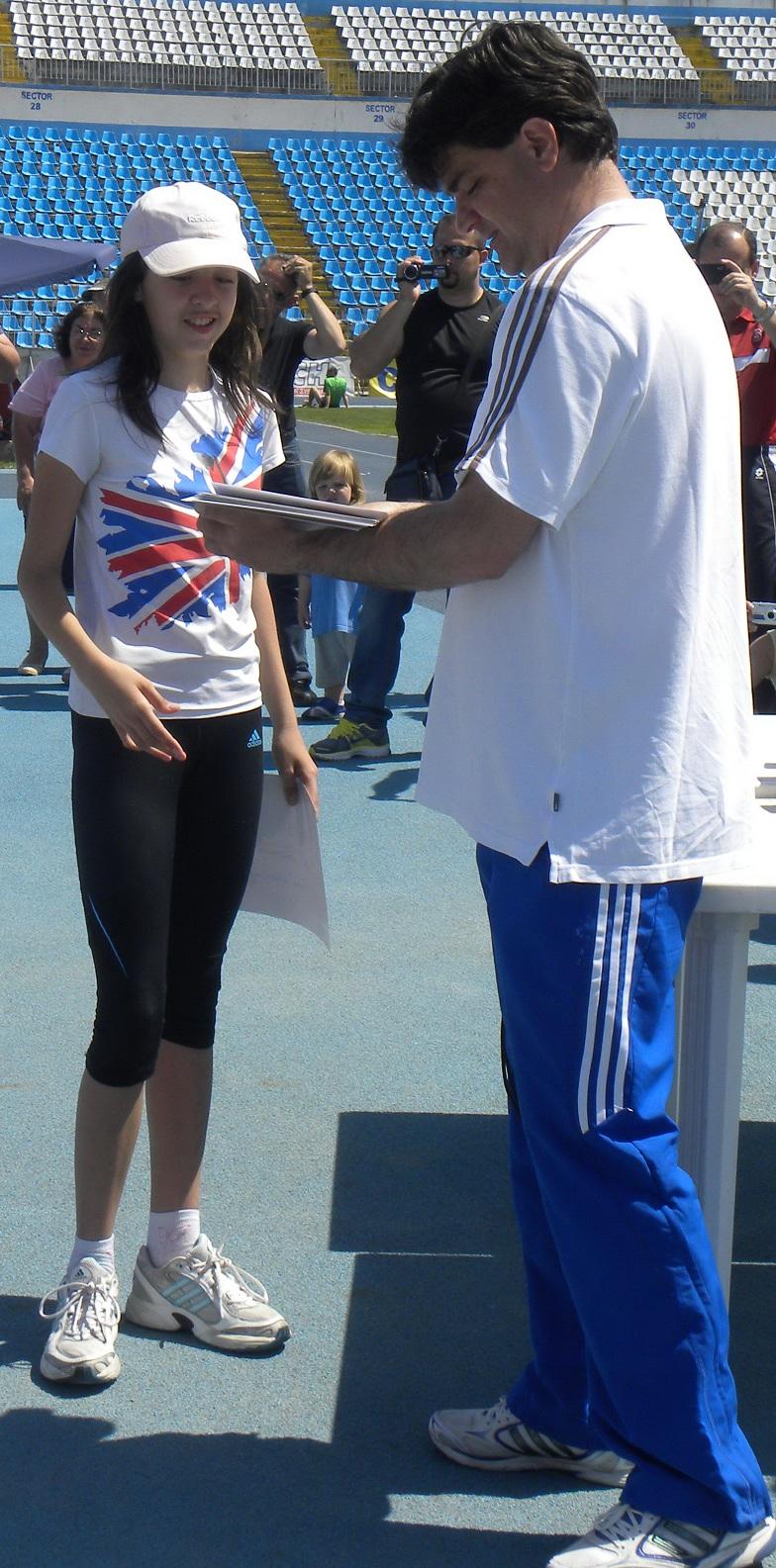Alexandra Cornea si Catalin Ganera