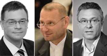 Victor Viorel Ponta, Cristian Diaconescu, Crin Antonescu, Klaus Iohannis, Mihai Răzvan Ungureanu și mai nou, independentul Viorel Cataramă.