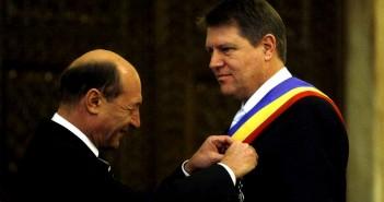Klaus Iohannis - Traian Basescu