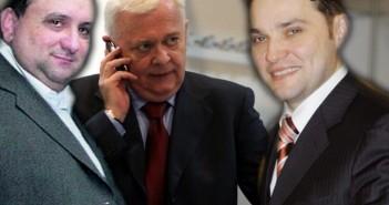 Dumitru Iliescu Viorel Hrebenciuc si Dan Sova