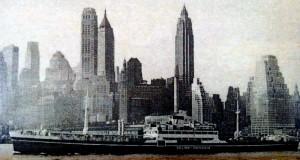 Nava SMR Sulina la NewYork in 1940