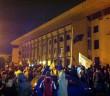 Protestele din fata Primariei Constanta 17 Noiembrie 2014