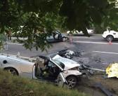 Accident groaznic la 23 August cu cinci morți