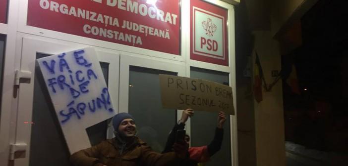 Rușine PSD Constanța! Susținere totală pentru Dragnea, nimic despre doamna care ne consideră putori