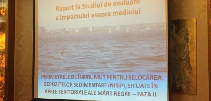 Van Oord mută noi porțiuni de nisip din Marea Neagră. Studiul de impact nu lămurește cât de afectat va fi mediul de lucrările olandezilor
