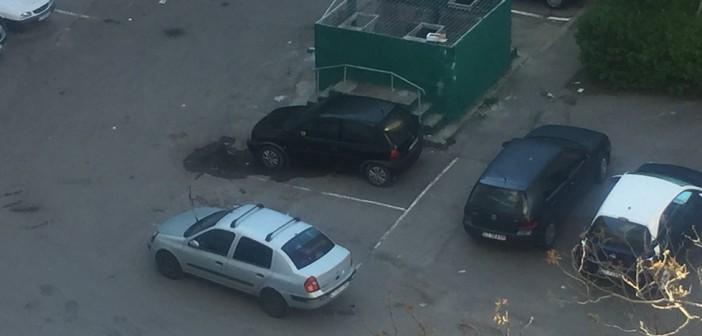 Angajații Polaris iau pe sus mașinile care le încurcă drumul prin cartierele Constanței