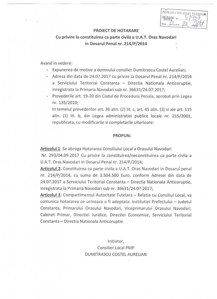 proiect-de-hotarare-constituire-parte-civila