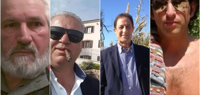 Salvatore Pugliese, Gerlando Cuffaro, Francesco Giambrone, Maximilian Munda