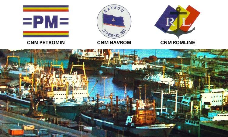 Companiile de navigatie maritima PETROMIN NAVROM si ROMLINE