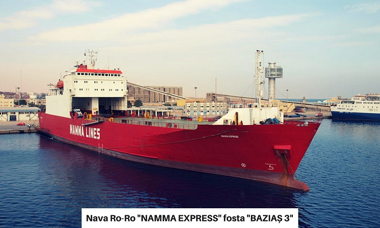 Nava Ro-Ro NAMMA EXPRESS ex BAZIAȘ 3
