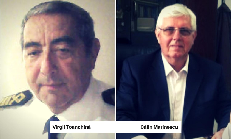 Virgil Toanchina si Calin Marinescu