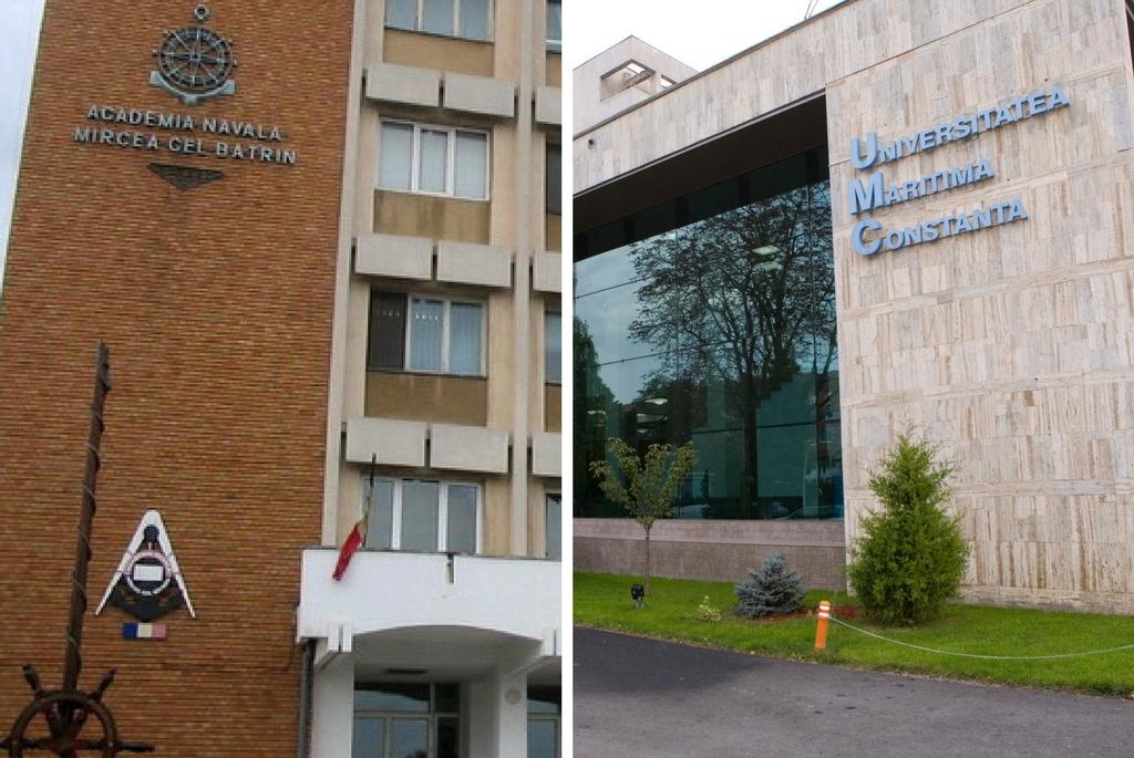 Academia Navală și Universitatea Maritimă Constanța - fostul IMC