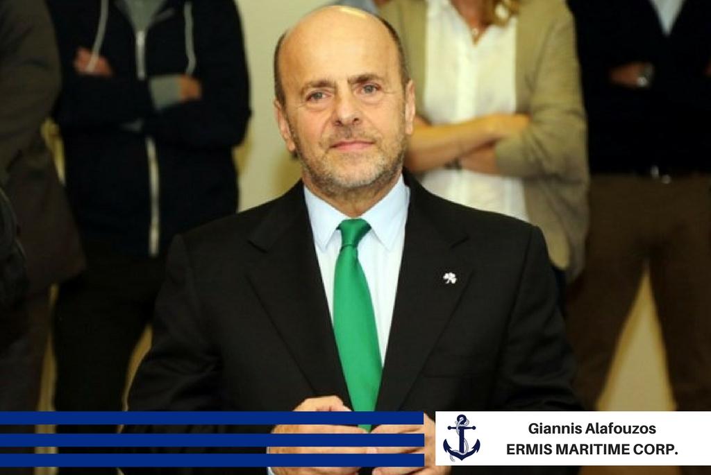 Giannis Alafouzos - ERMIS MARITIME CORP