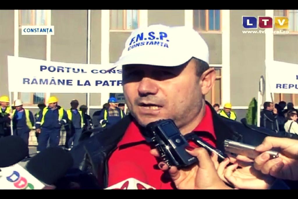 MIRCEA BURLACU - președinte FNSP Constanța - Mai 2014