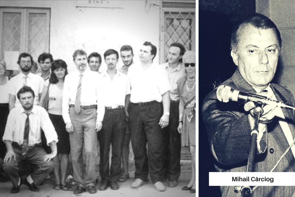 Mihail Cârciog si baietii de la Telegraf Constanta