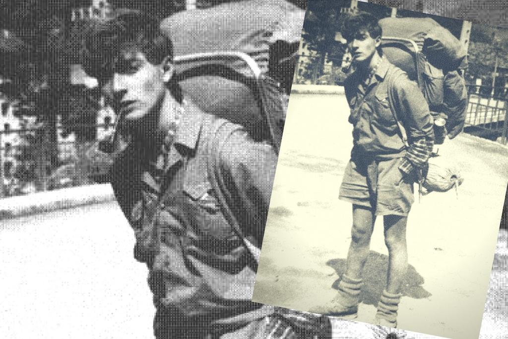 Radu Mazare 1985 - Călător pe munte