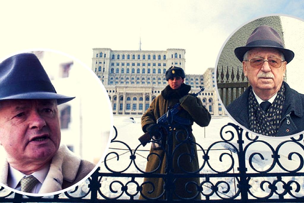 VIrgil Magureanu si Iulian Vlad