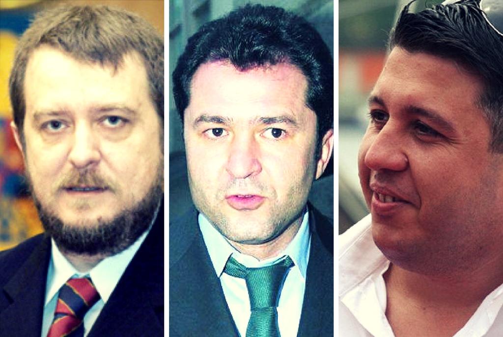 Valentin G. Ionescu, Elan Schwartzenberg si Ionut Barbu