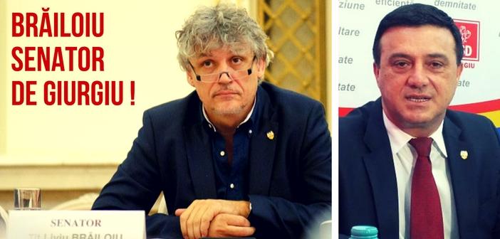 DESCHIDERE - BRĂILOIU SENATORDE GIURGIU