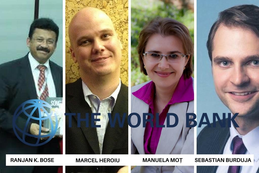 Echipa Băncii Mondiale care a realizat studiul despre Constanța