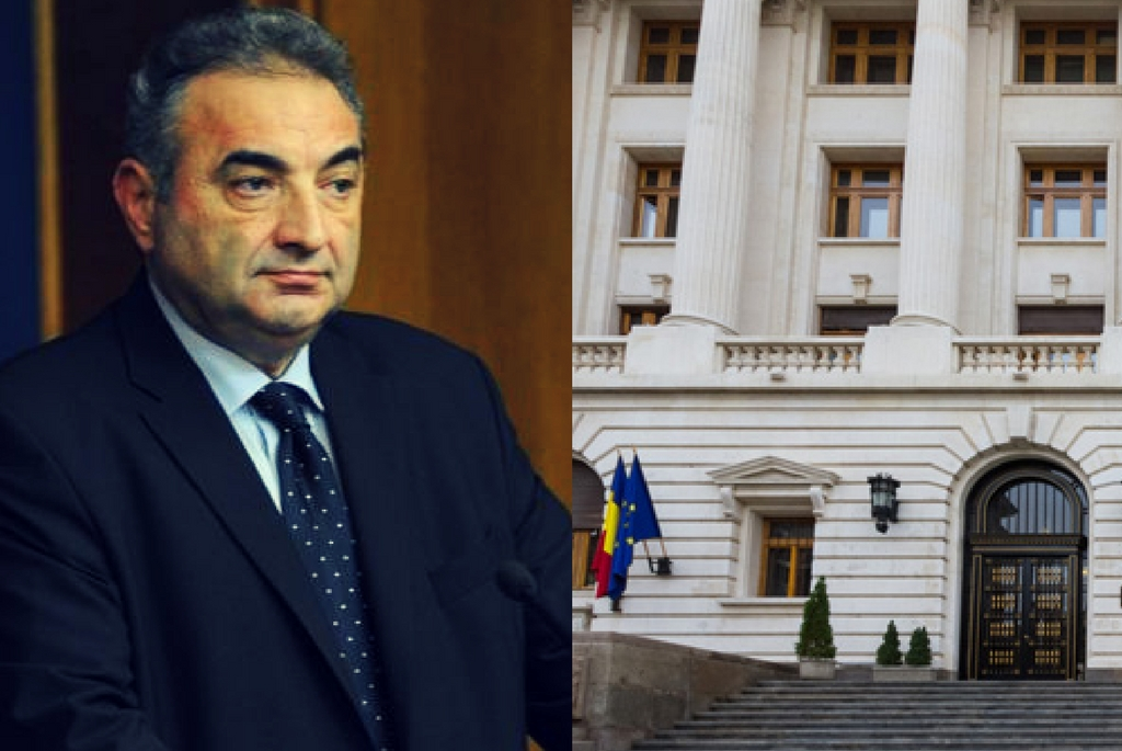 Florin Georgescu - Prim-Viceguvernator al Bancii Nationale a Romaniei