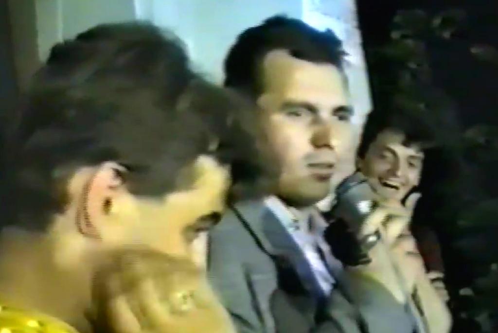 Nicusor Constantinescu - Piata Universitatii din Bucuresti - 1990