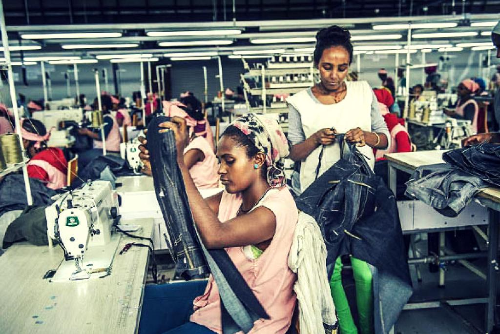 Fabrica de textile din Etiopia