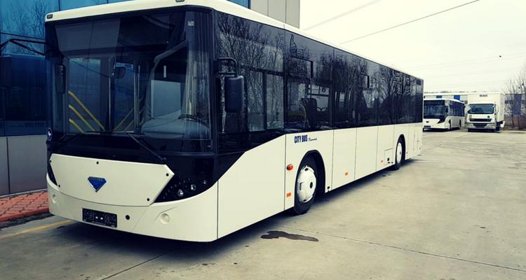 Autobuzul românesc produs de BMC Truck & Bus lângă București