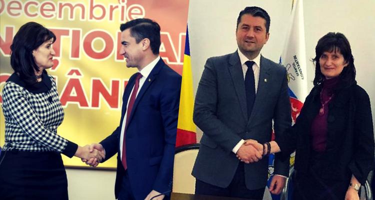 Primarii din IAȘI și CONSTANȚA alături de VENERA VLAD de la BERD