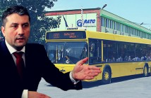 Primarul Decebal Făgădău - sediul RATC Constanța