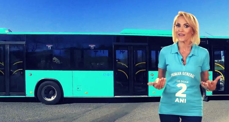 Primarul GABRIELA FIREA - PANDELE și autobuzele turcești OTOKAR