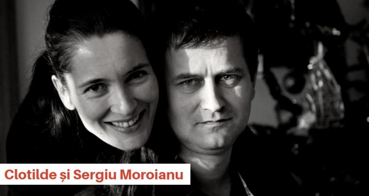 Clotilde Armand si Sergiu Moroianu