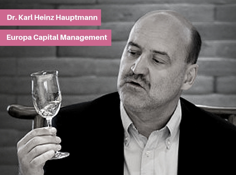 Dr. Karl Heinz Hauptmann - Europa Capital Management (ECM)