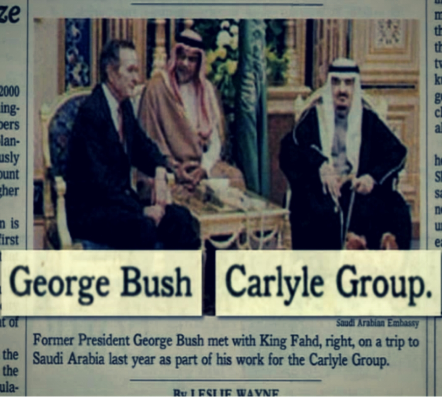 George Bush senior - Carlyle Group