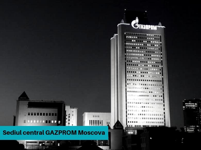 Sediul central Gazprom Moscova
