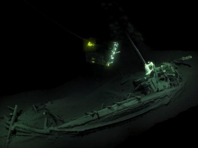 Cea mai veche epavă din Marea Neagră