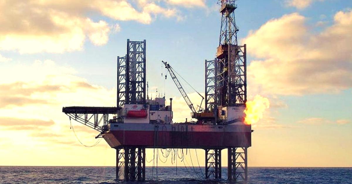 Platforma de foraj PROMETEU (de la fosta Petromar) - acum la Grup Servicii Petroliere