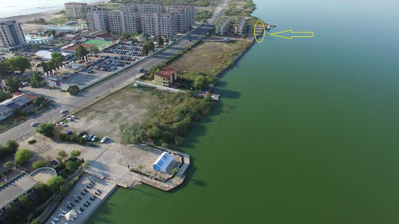Lacul Siutghiol betonat la Năvodari