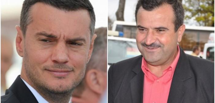 Primarul Valentin Vrabie și prefectul Dumitru Jeacă, actori într-un scandal bine regizat?