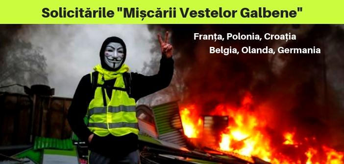 """Europa sub asediul """"Vestelor Galbene"""" și Taxa Diesel. Dolarul crește. Începe criza?"""