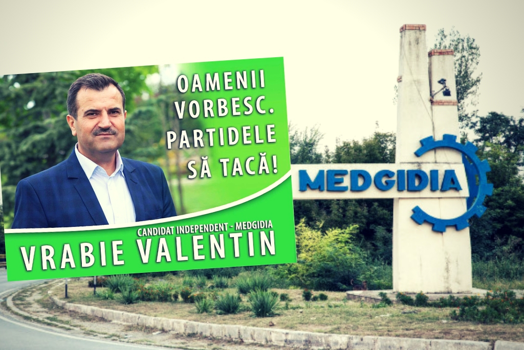 Valentin Vrabie candidat la Medgidia 2016