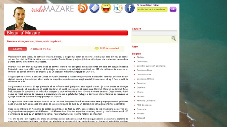 Blogu lu Mazare - mai 2008
