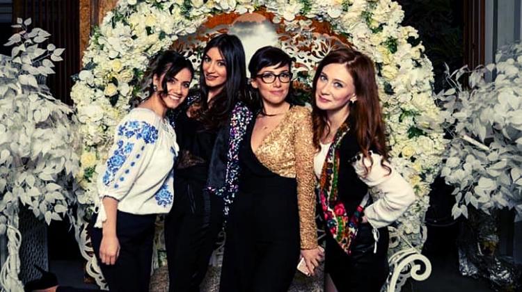 De la stănga: Alina Gâju, Anamaria Bâdea, Daniela Enescu și Mădălina Pascu