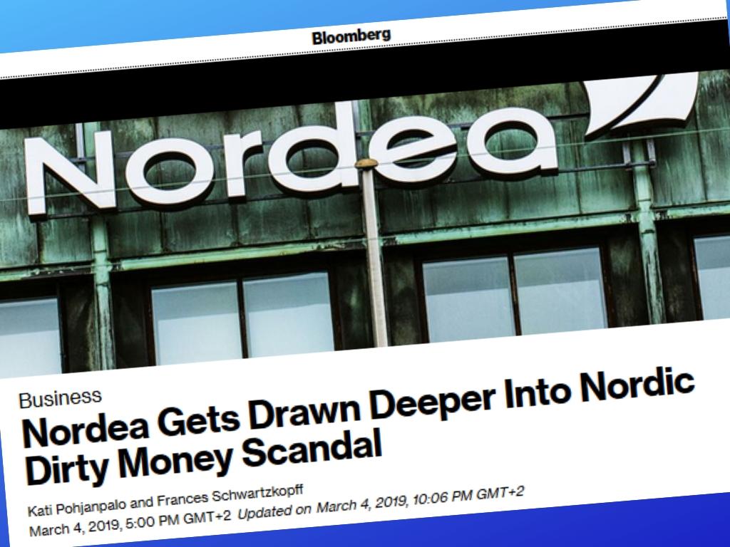 Nordea - Bloomberg - 4 Martie 2019