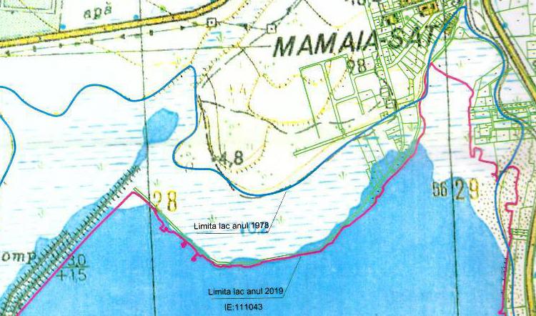 Harta jafului. Teritoriul marcat de dungile albastre și roșii a fost furat