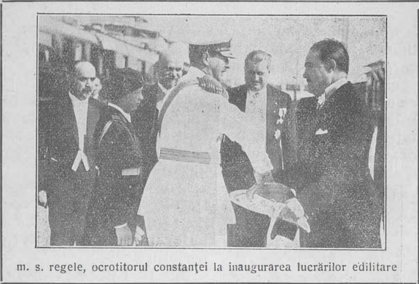 Regele Carol si Primarul Horia Grigorescu