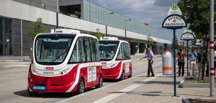 Autobuze autonome NAVYA