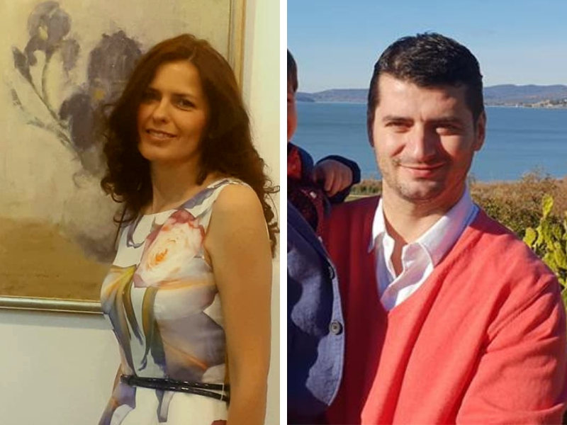 Vicepreședinții USR - Laura Tănase și Mihai Ochiuleț